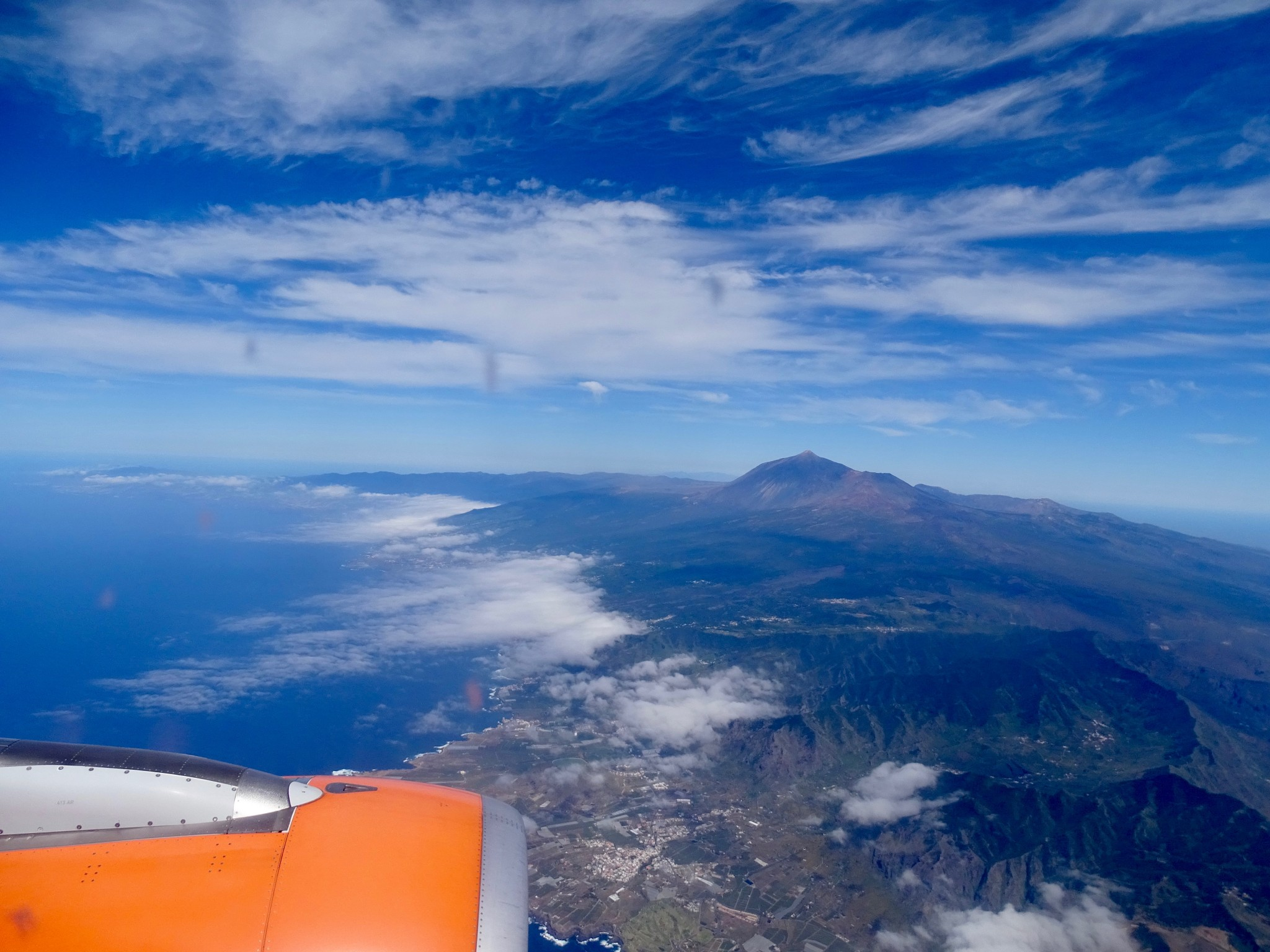 Approaching Tenerife