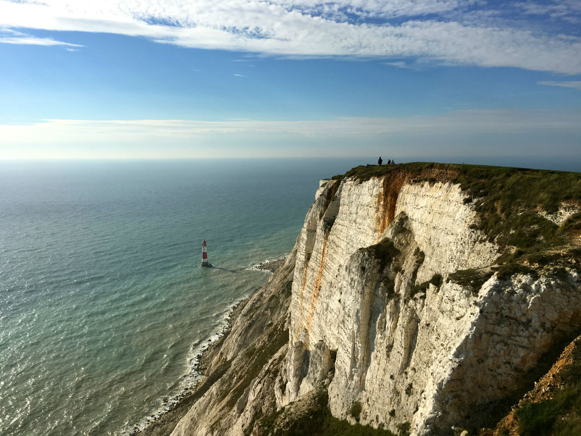 Beachy Head, South England