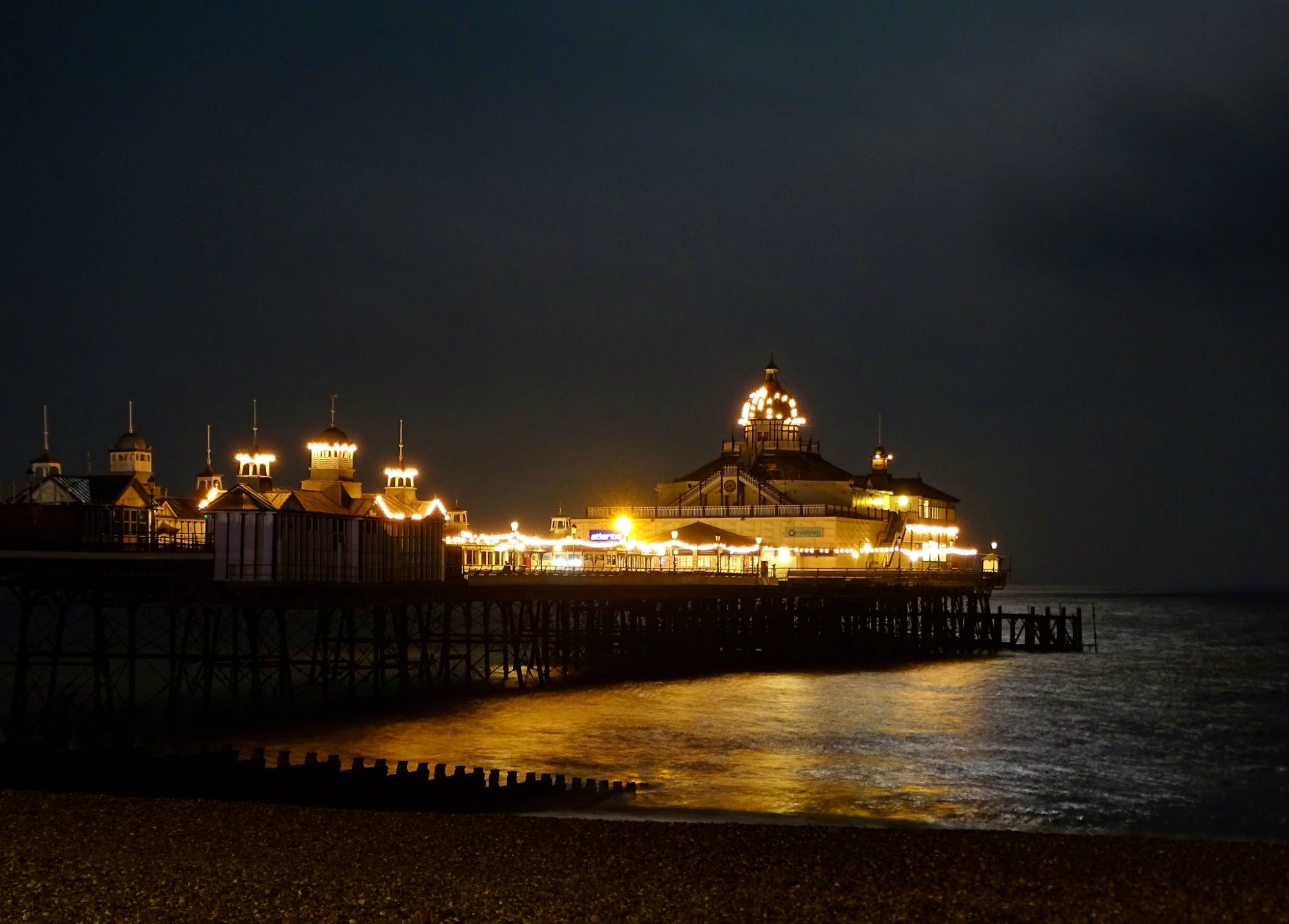 Eastbourne Pier by Night