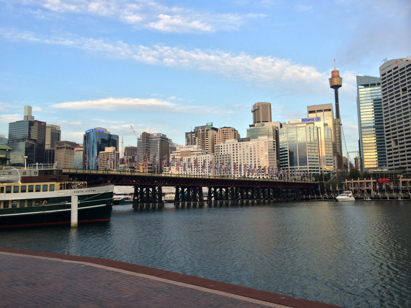 Pyrmont Bridge, Darling Harbour