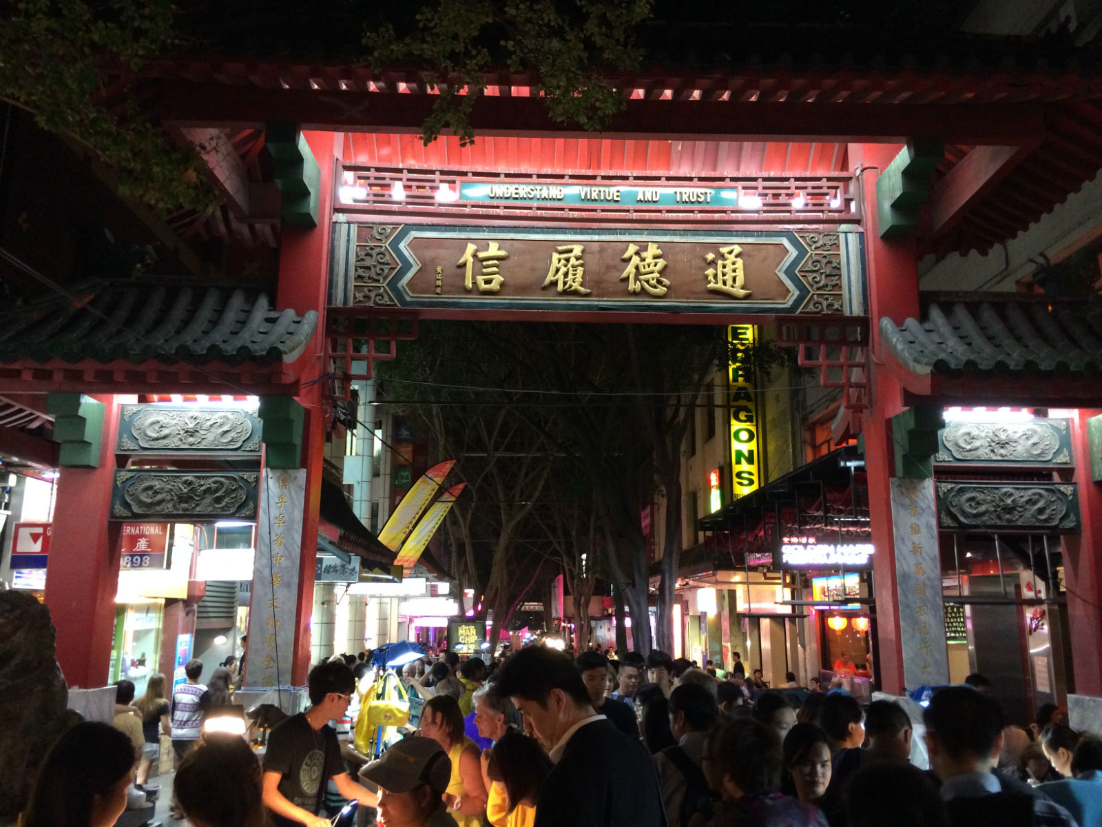 Night Market in Chinatown