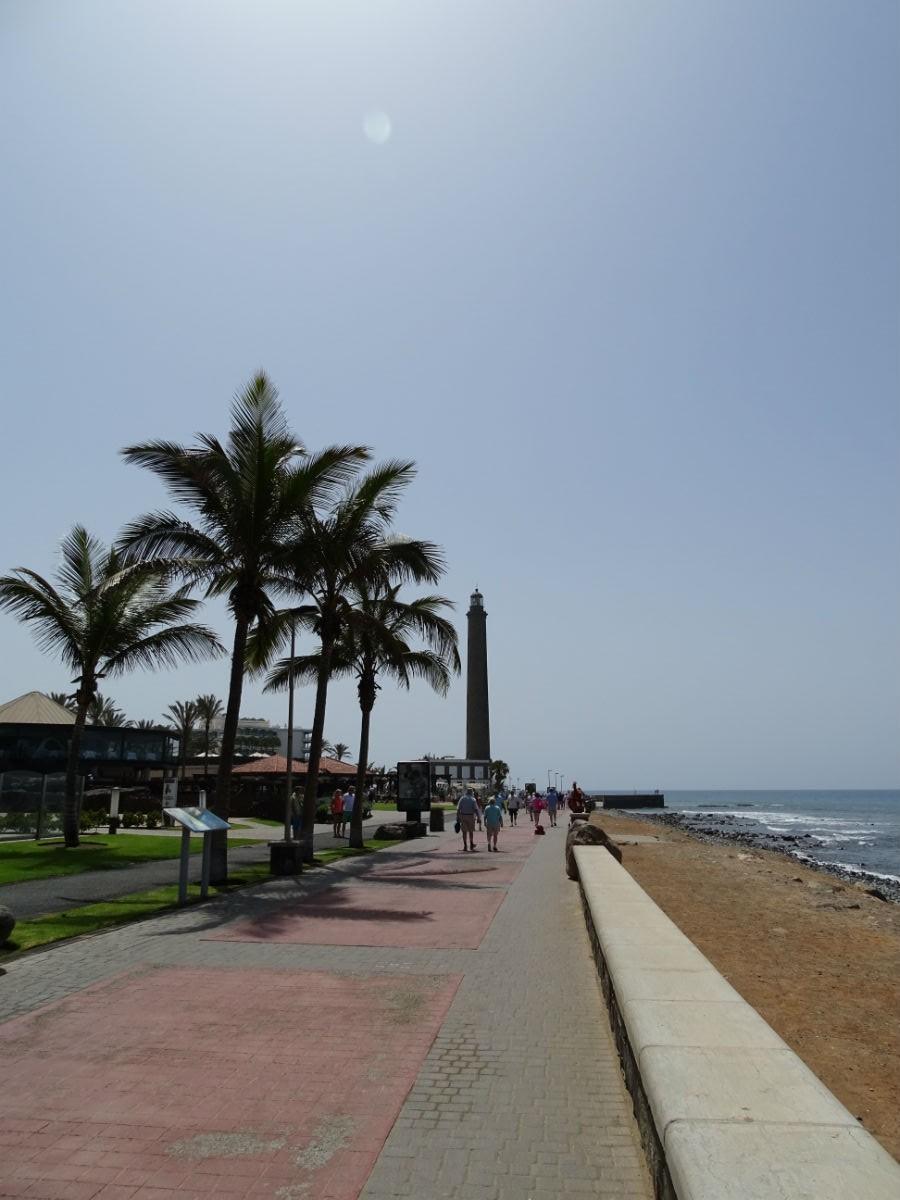 Las Meloneras, Boulevard El Faro