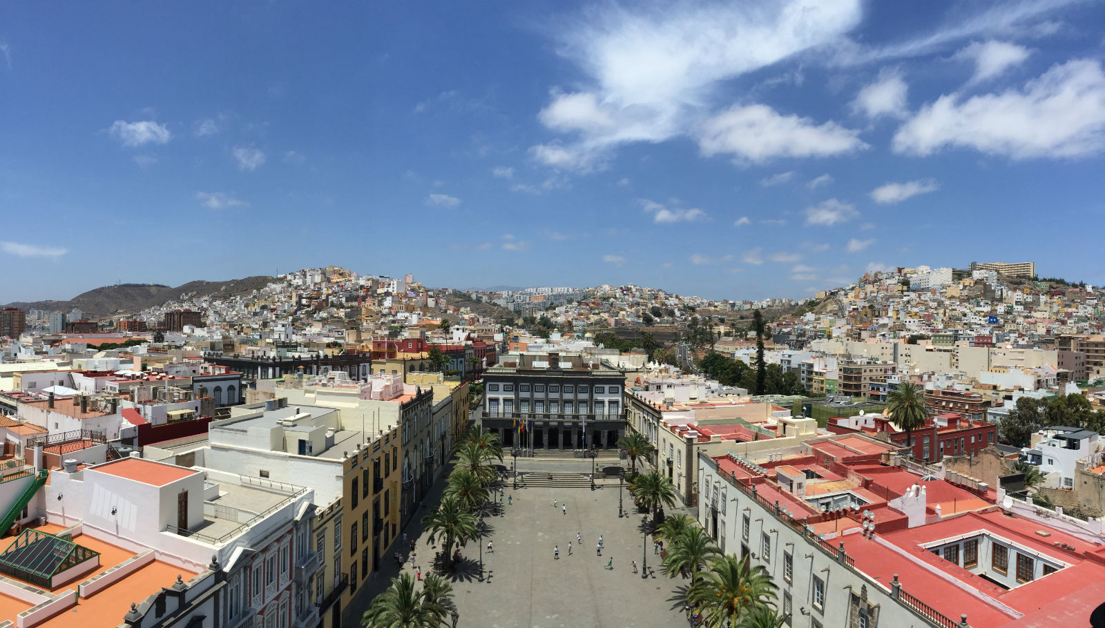 Las Palmas - View from the Cathedral