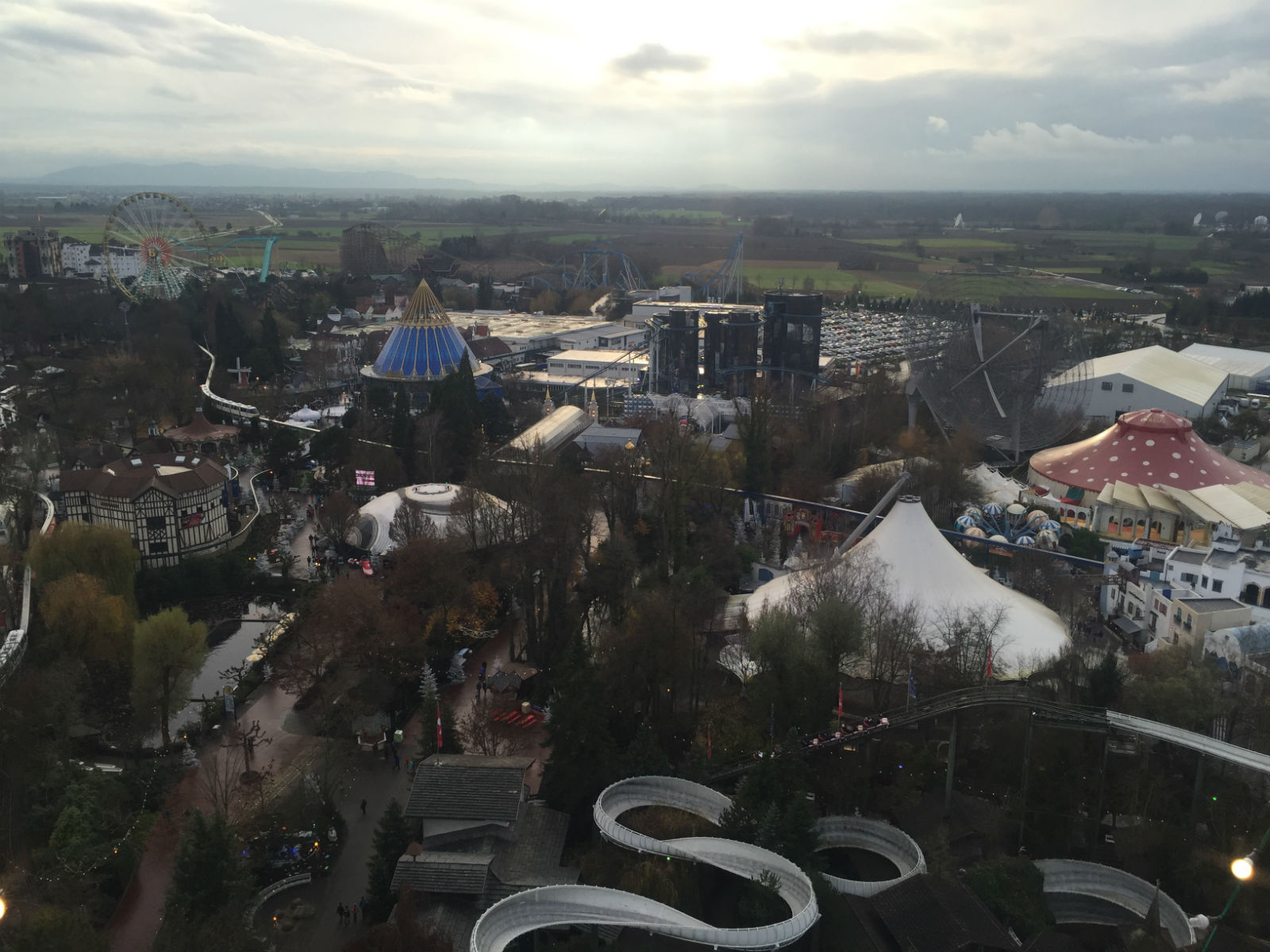 Europa-Park from Above